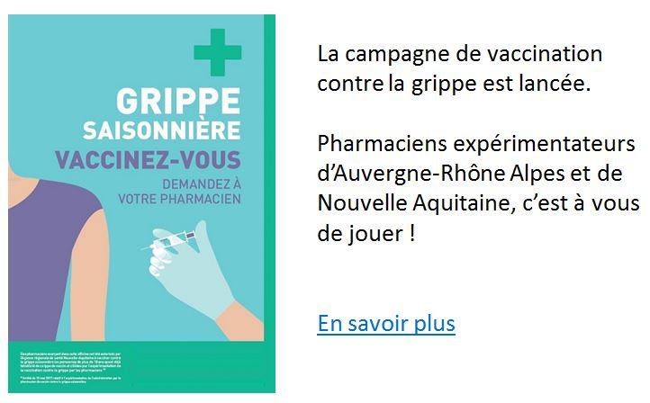 Popin - Lancement campagne vaccination officine